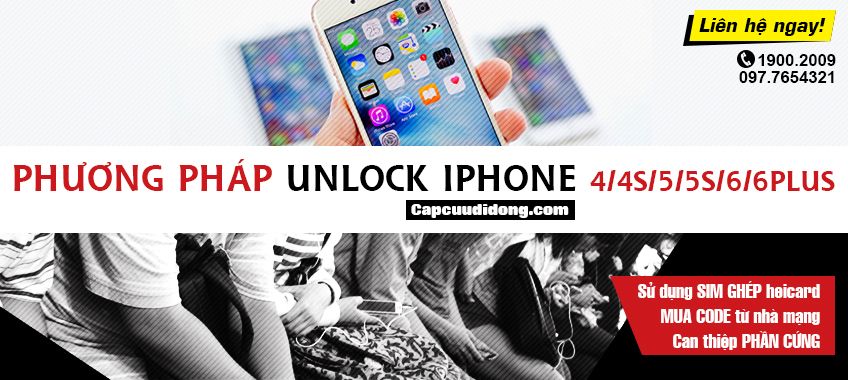 Phuong phap unlock iphone