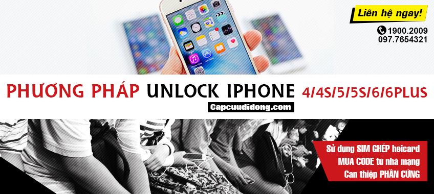 Phuong phap unlock iphone